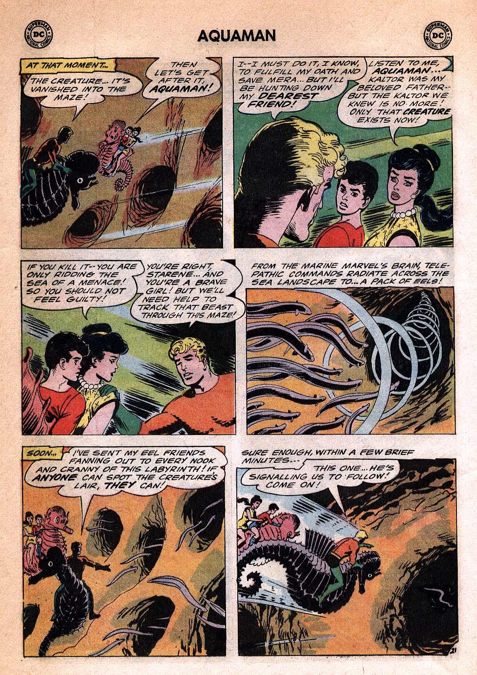 Aquaman (1962) Issue #20 #20 - English 28