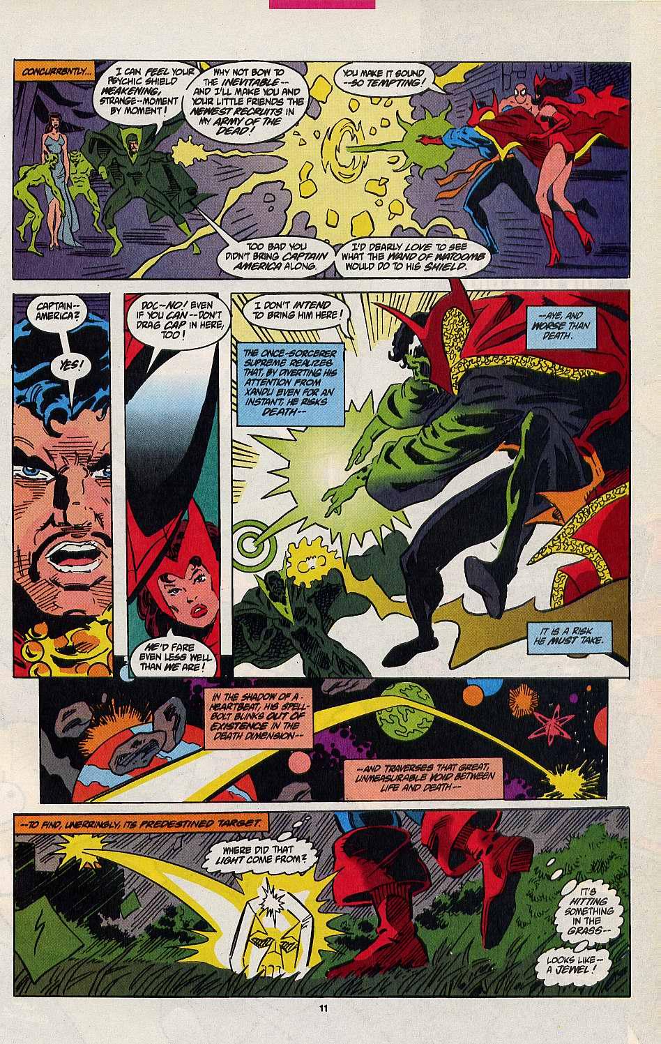 Read online Secret Defenders comic -  Issue #8 - 9
