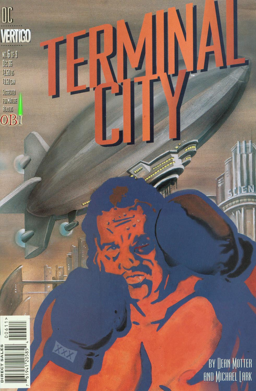Read online Terminal City comic -  Issue #6 - 1