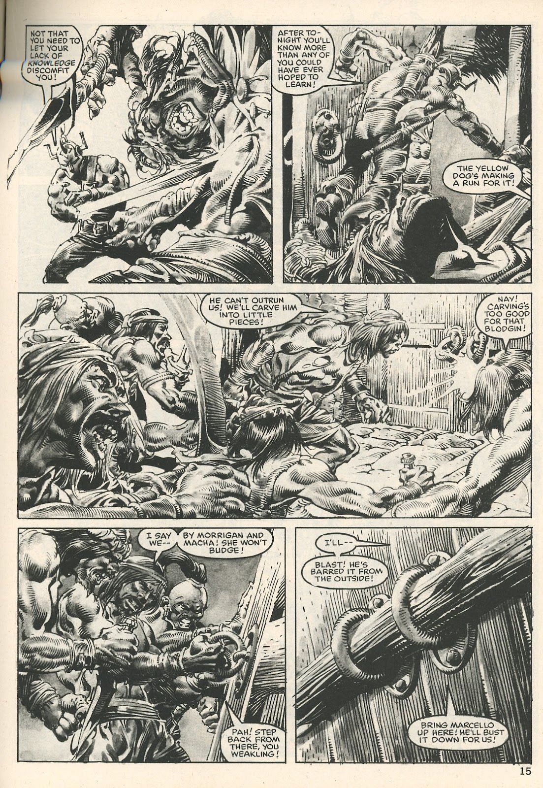 The Savage Sword Of Conan Issue #107 #108 - English 15