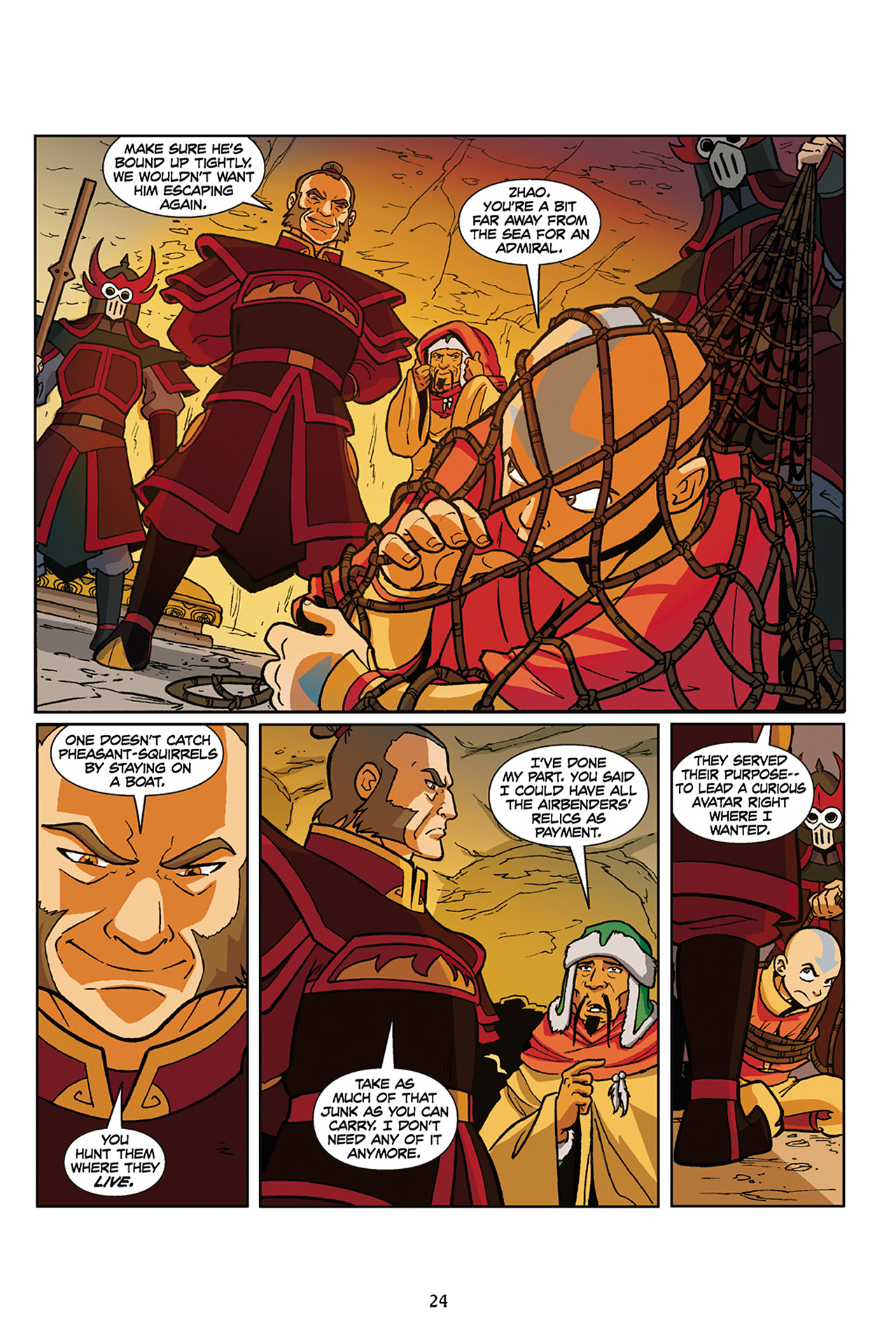 Nickelodeon Avatar: The Last Airbender - The Lost Adventures chap full pic 25