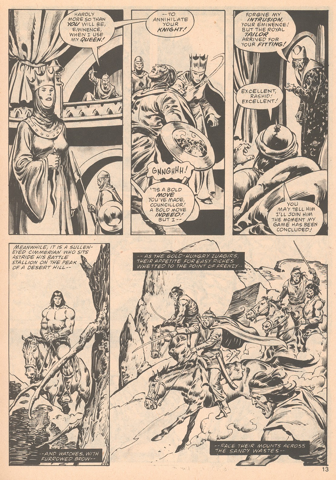 The Savage Sword Of Conan Issue #63 #64 - English 13
