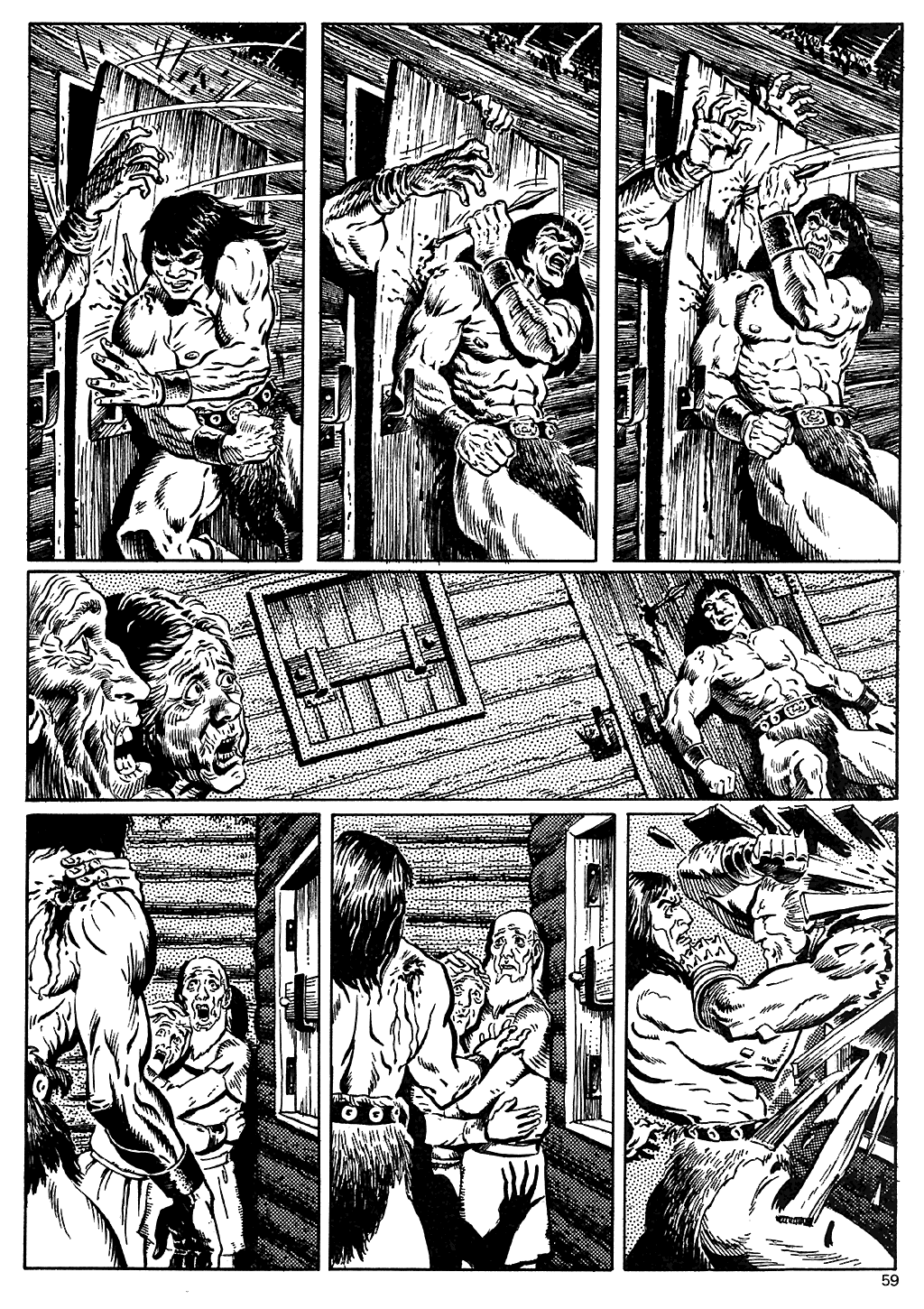 The Savage Sword Of Conan Issue #110 #111 - English 57