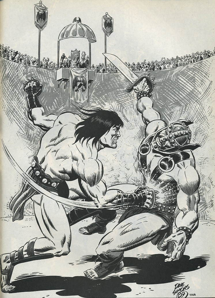 The Savage Sword Of Conan Issue #175 #176 - English 57