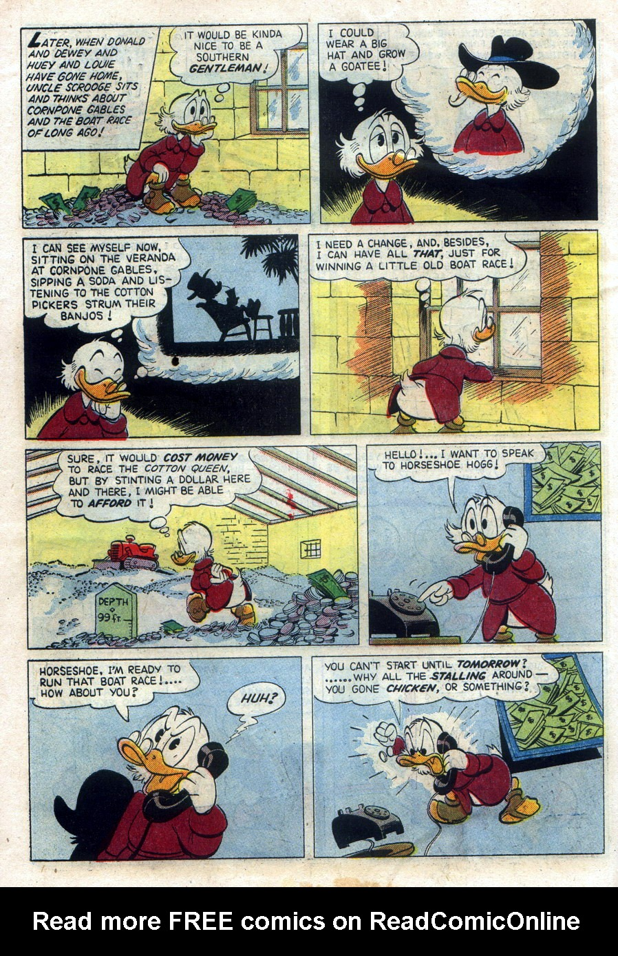 Uncle Scrooge (1953) #11 #394 - English 6