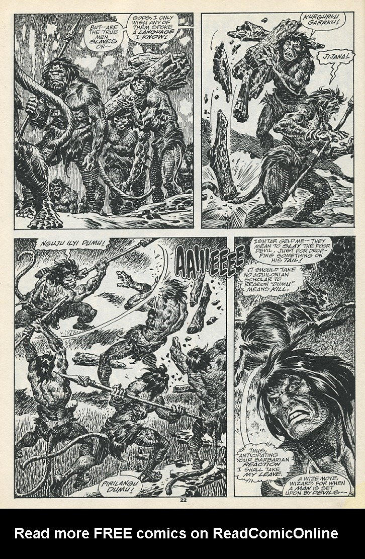 The Savage Sword Of Conan Issue #193 #194 - English 24