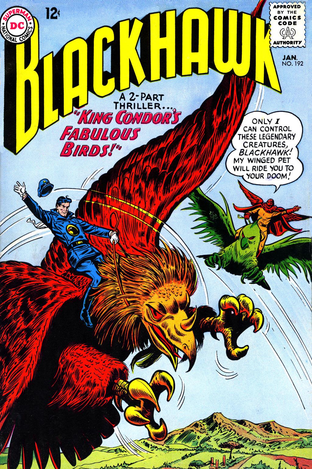 Blackhawk (1957) 192 Page 1