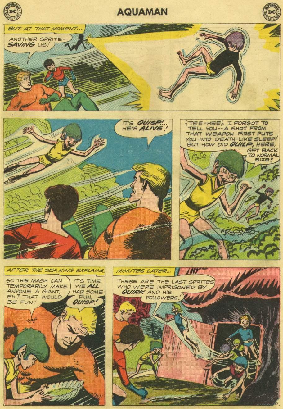Aquaman (1962) Issue #10 #10 - English 29