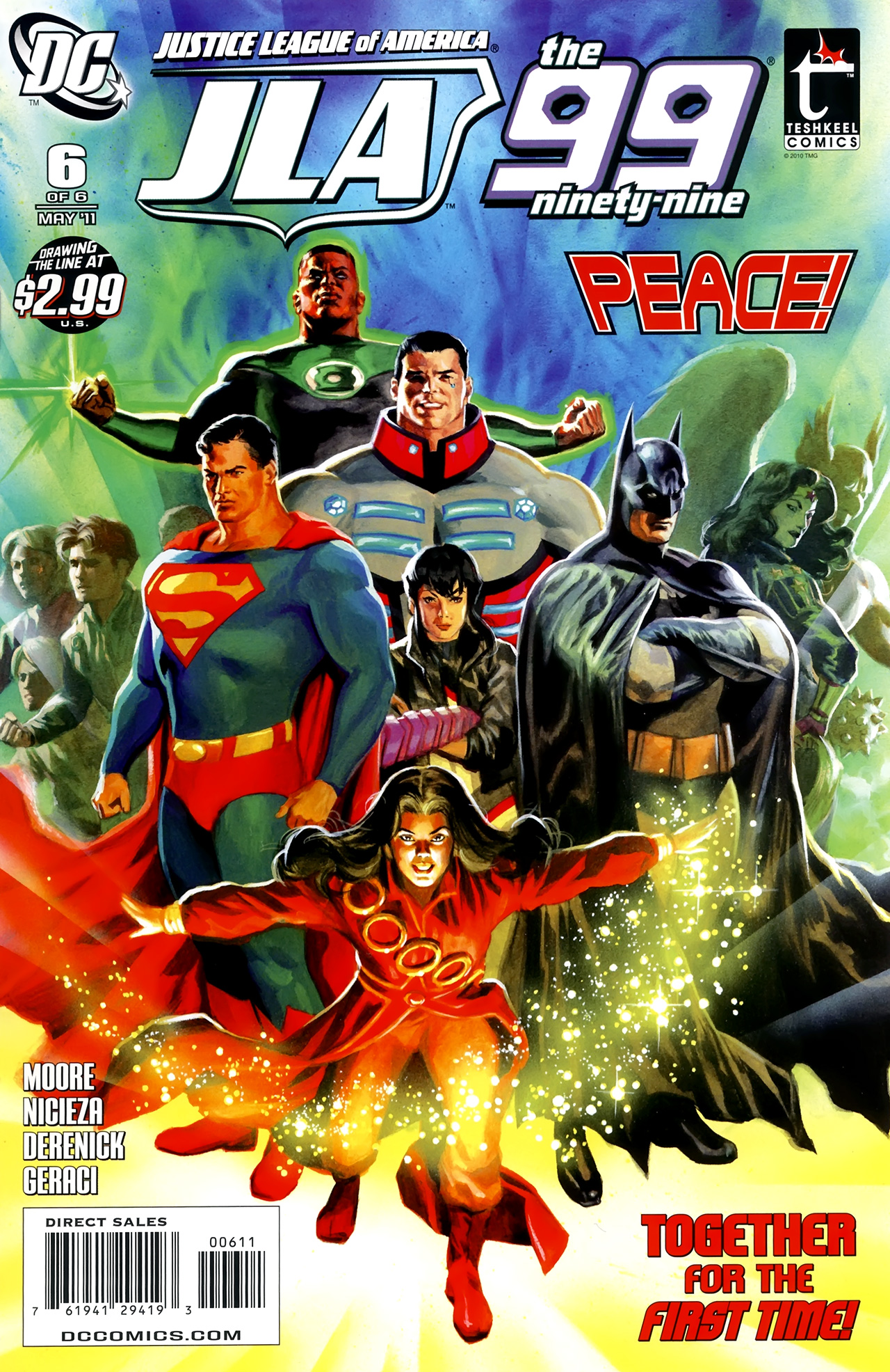 Read online Justice League of America/The 99 comic -  Issue #6 - 1
