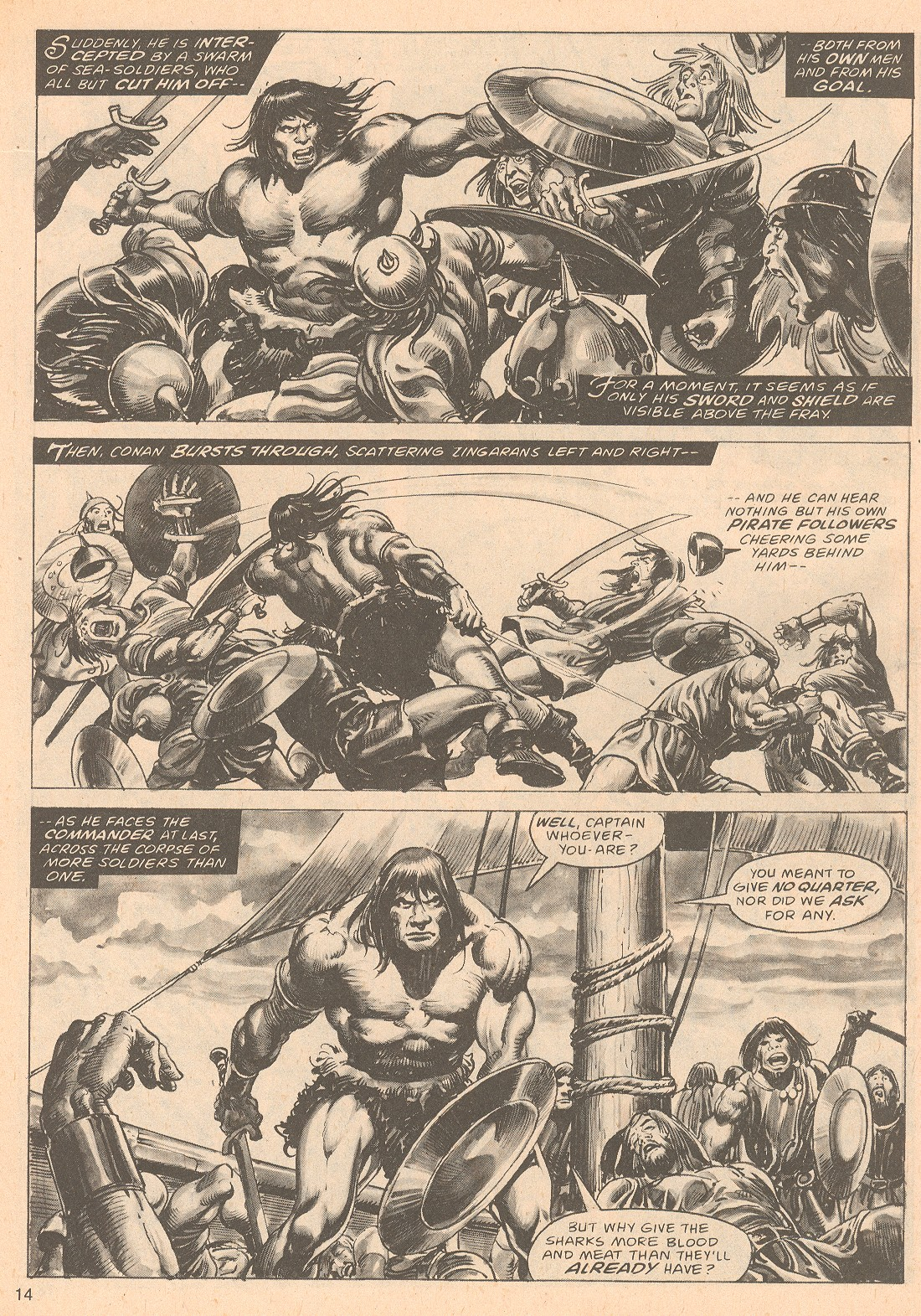The Savage Sword Of Conan Issue #67 #68 - English 14