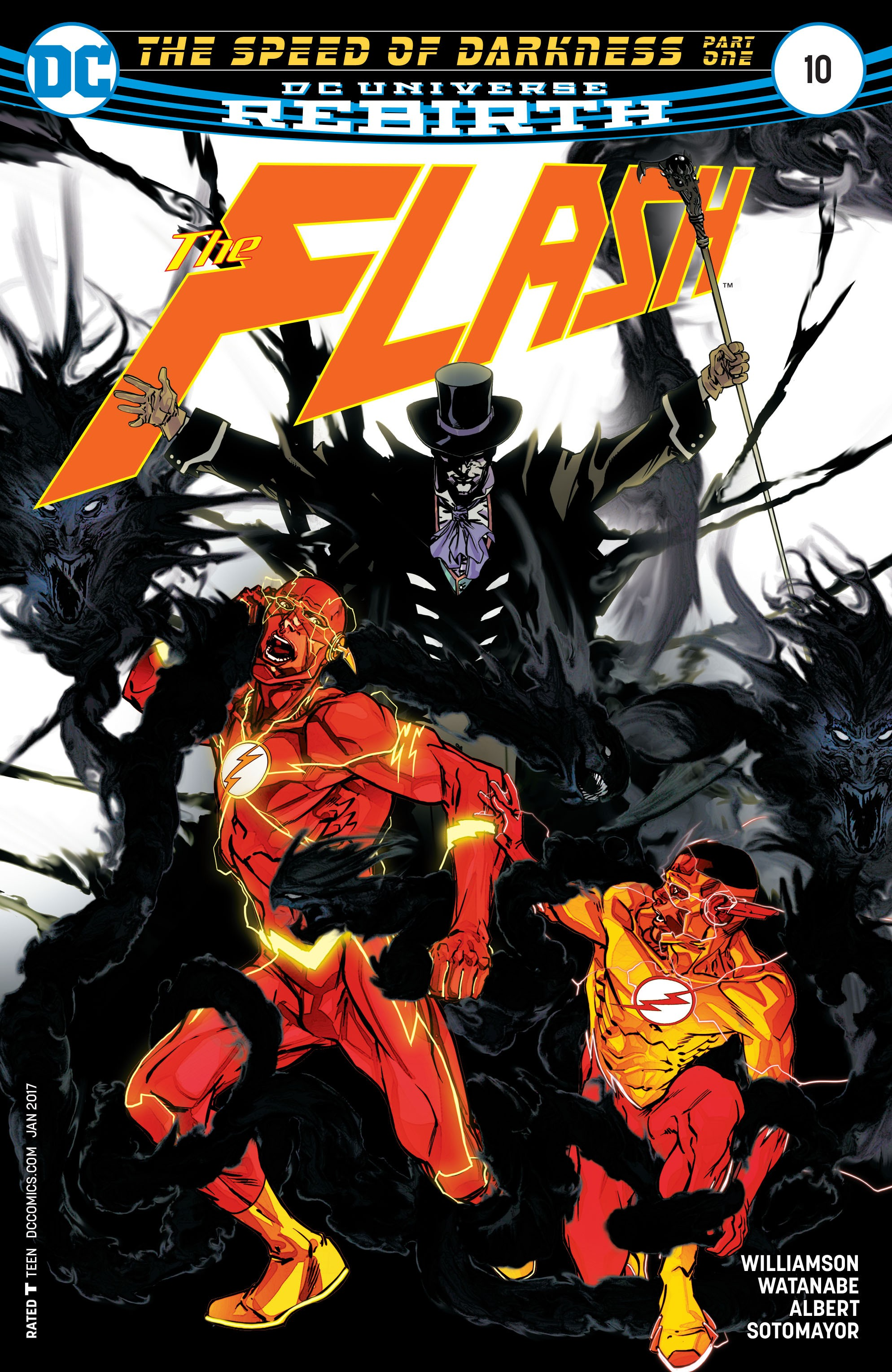 The Flash (2016) issue 10 - Page 1