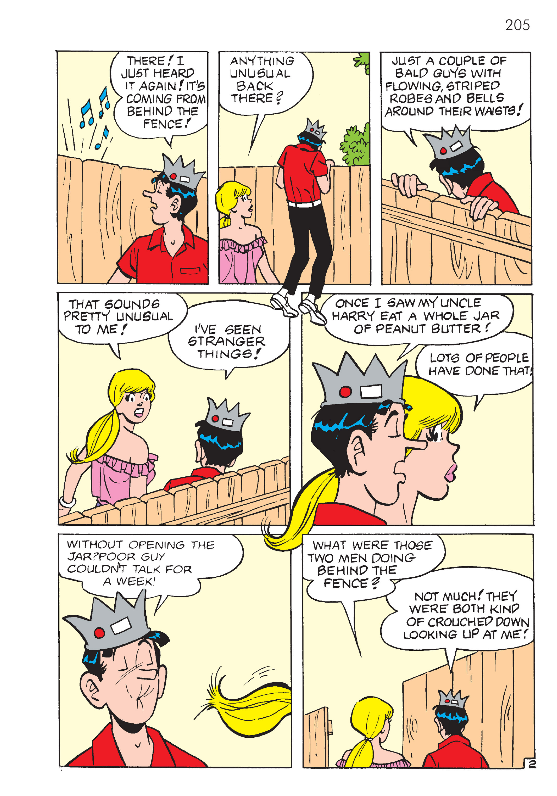 Read online The Best of Archie Comics comic -  Issue # TPB 4 (Part 1) - 206