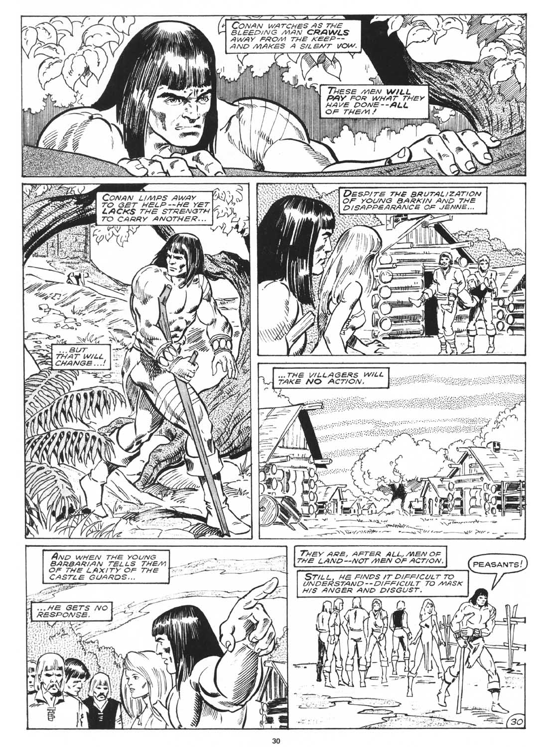 The Savage Sword Of Conan Issue #171 #172 - English 32