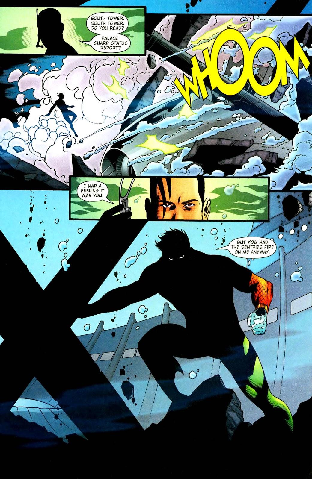 Aquaman (2003) Issue #33 #33 - English 19