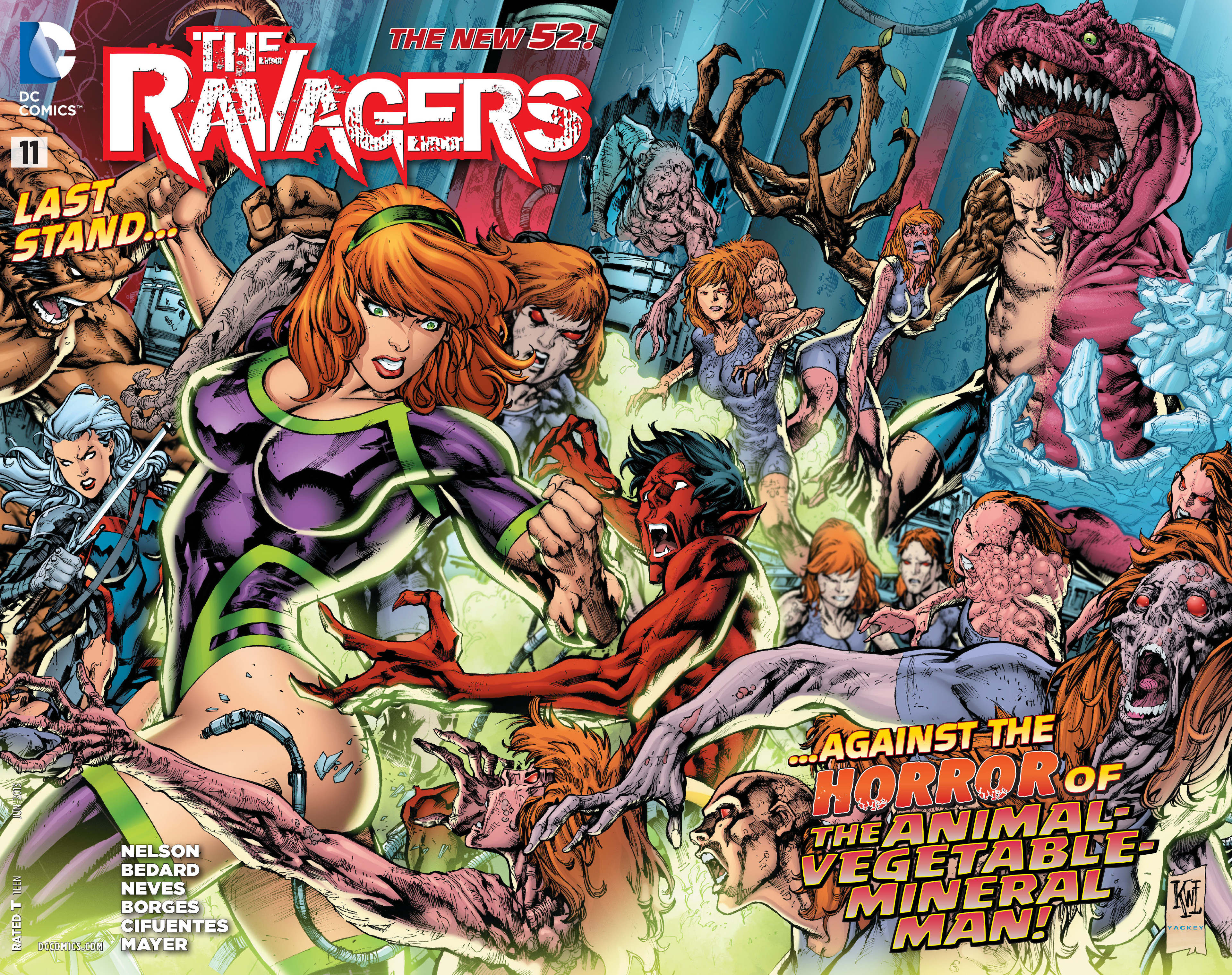 Read online The Ravagers comic -  Issue #11 - 2