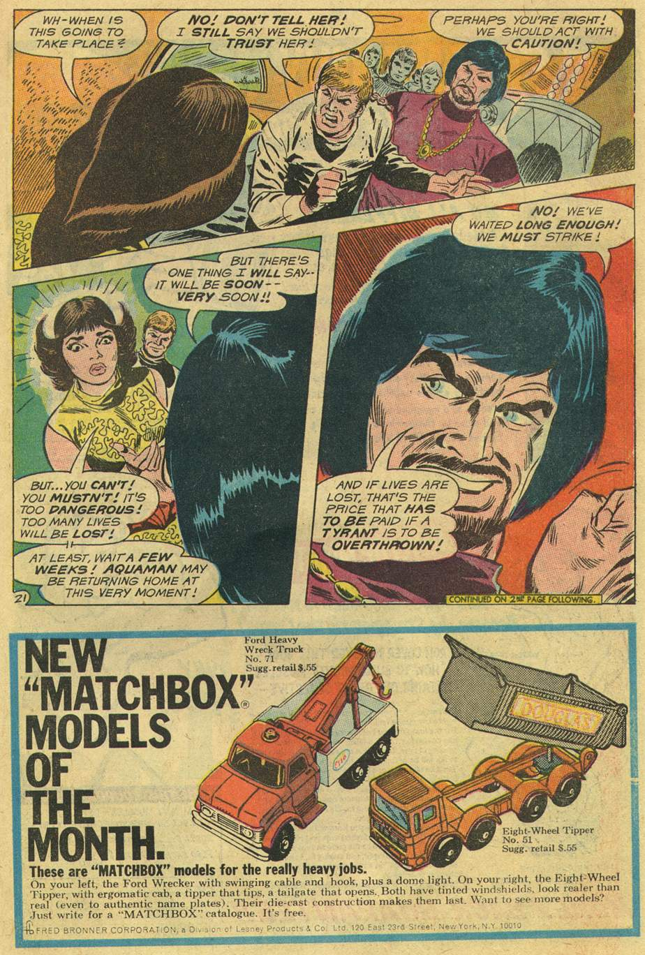 Aquaman (1962) Issue #46 #46 - English 27