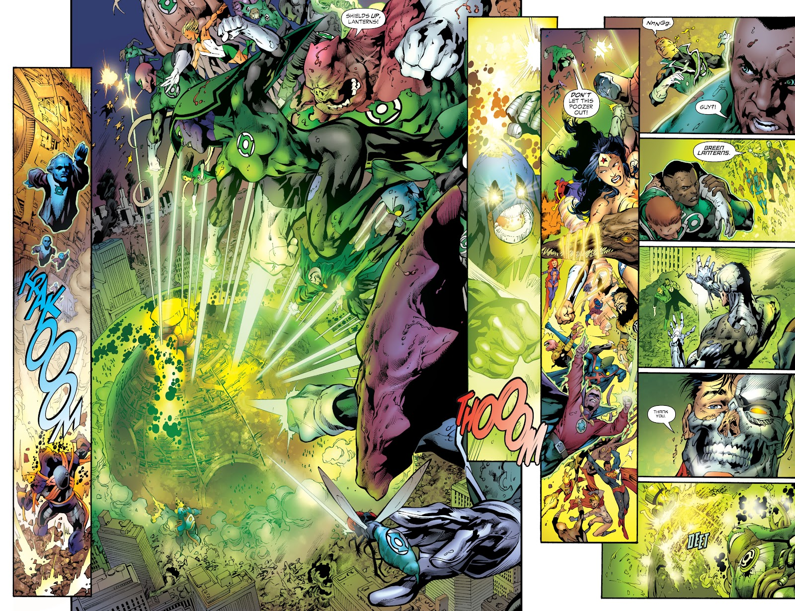 Green Lantern: The Sinestro Corps War Full #1 - English 270