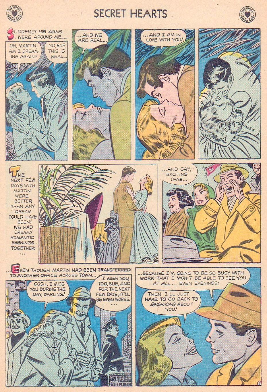Read online Secret Hearts comic -  Issue #44 - 7