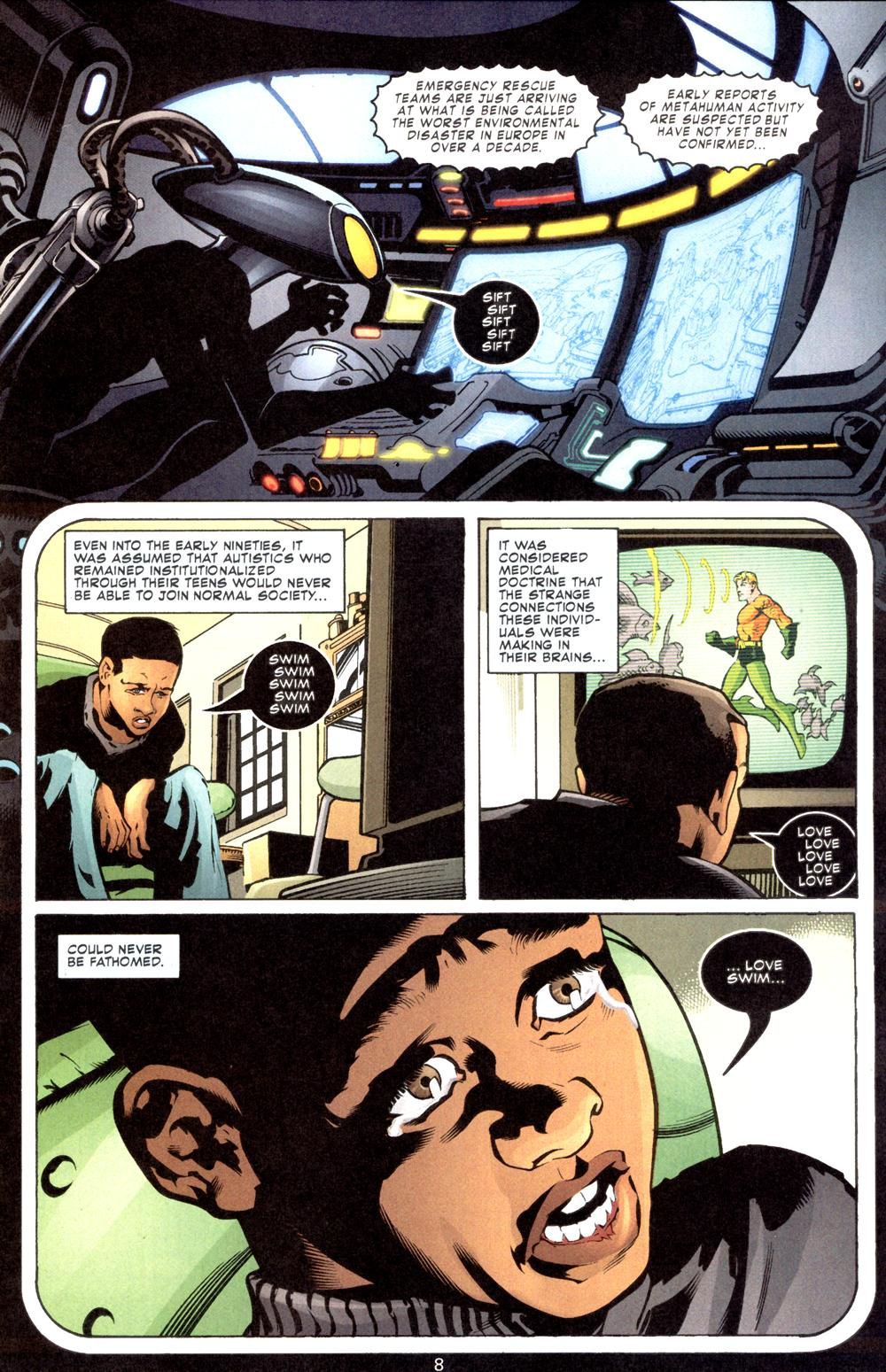 Aquaman (2003) Issue #8 #8 - English 9