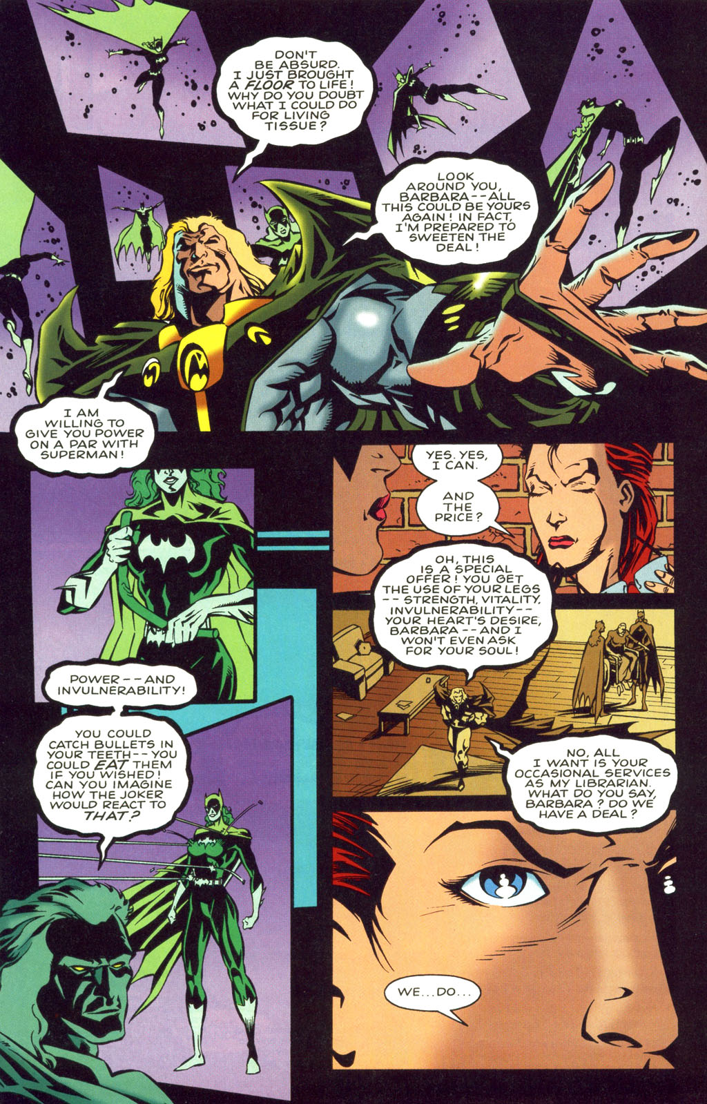 Underworld Unleashed: Patterns of Fear  1 Page 36