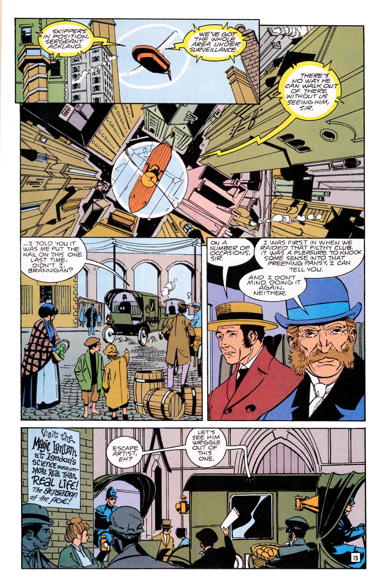 Read online Sebastian O comic -  Issue #1 - 17