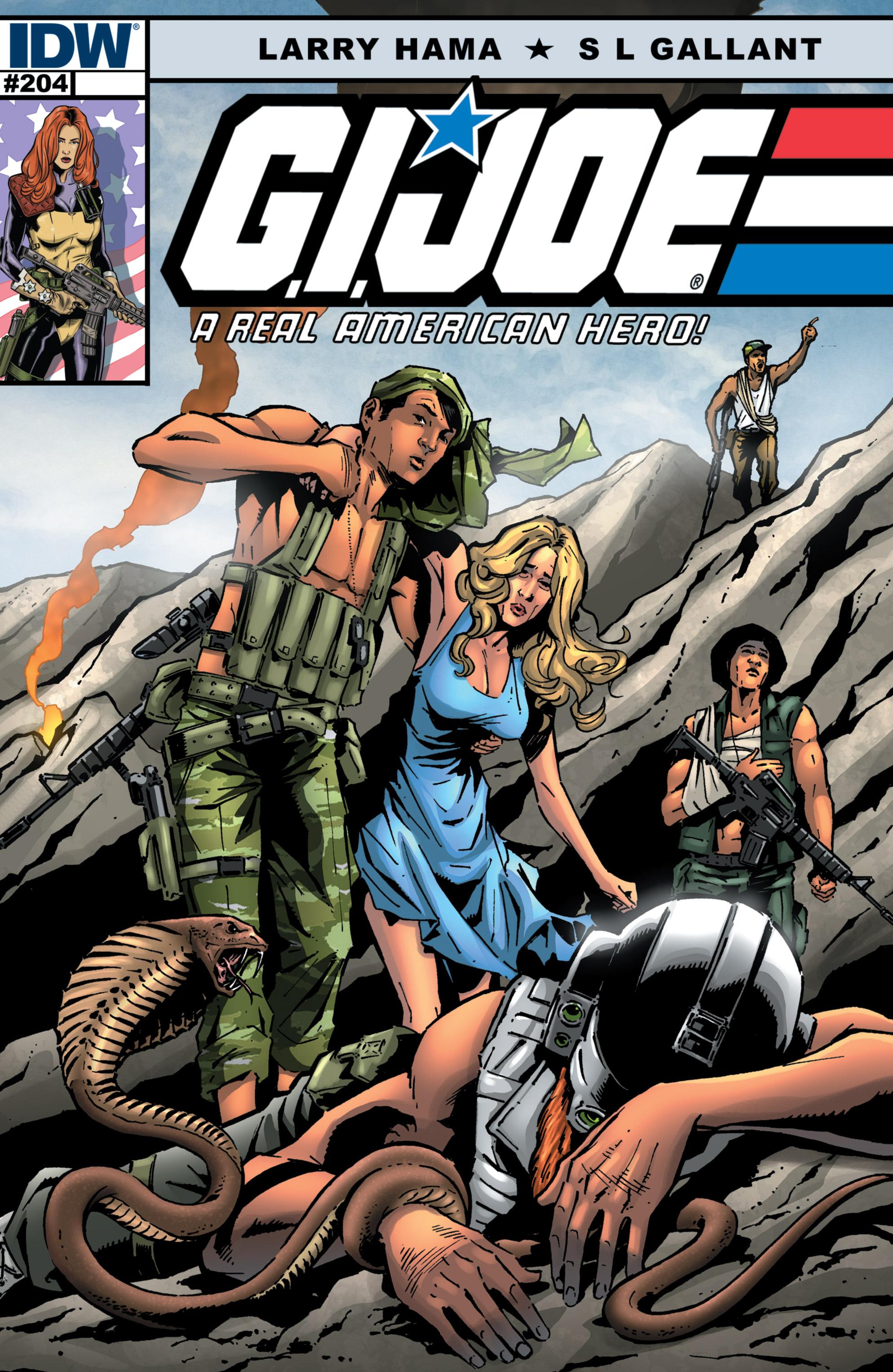 G.I. Joe: A Real American Hero 204 Page 1