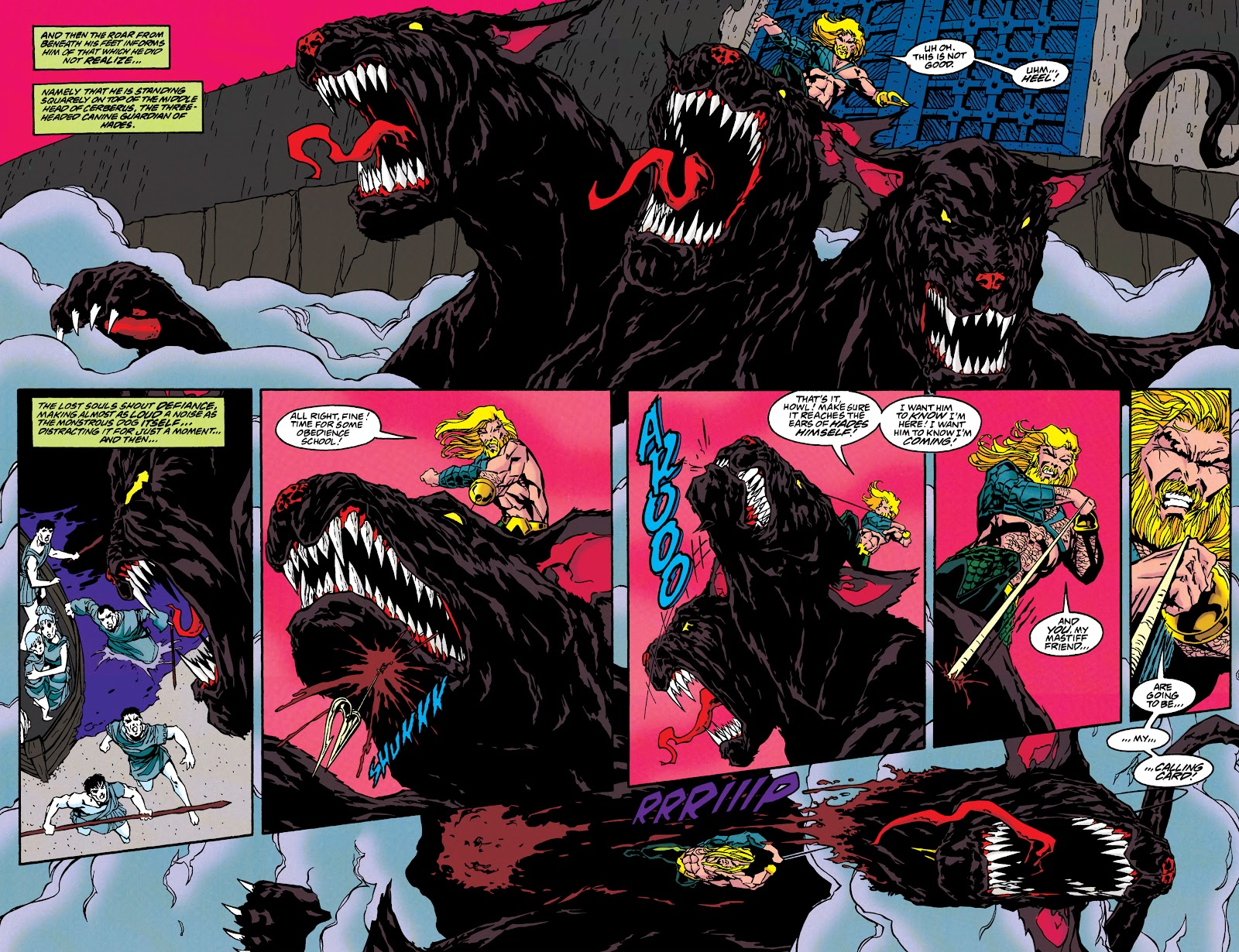 Aquaman (1994) Issue #46 #52 - English 10