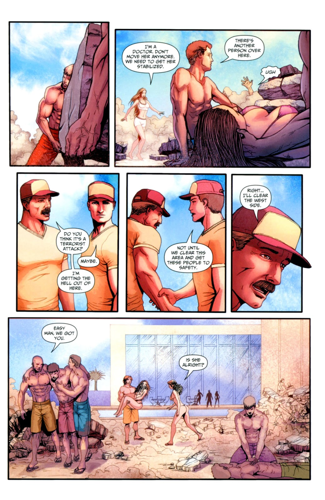 Grimm Fairy Tales: Swimsuit Edition Full #1 - English 36