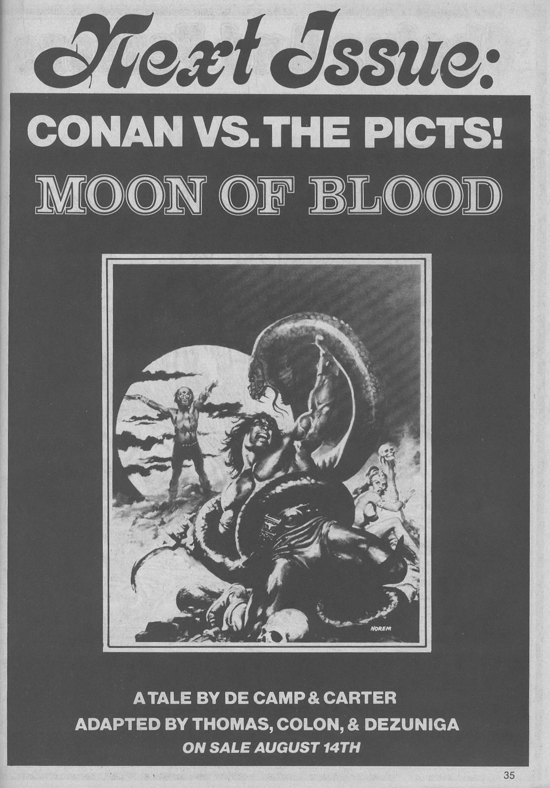 The Savage Sword Of Conan Issue #45 #46 - English 35