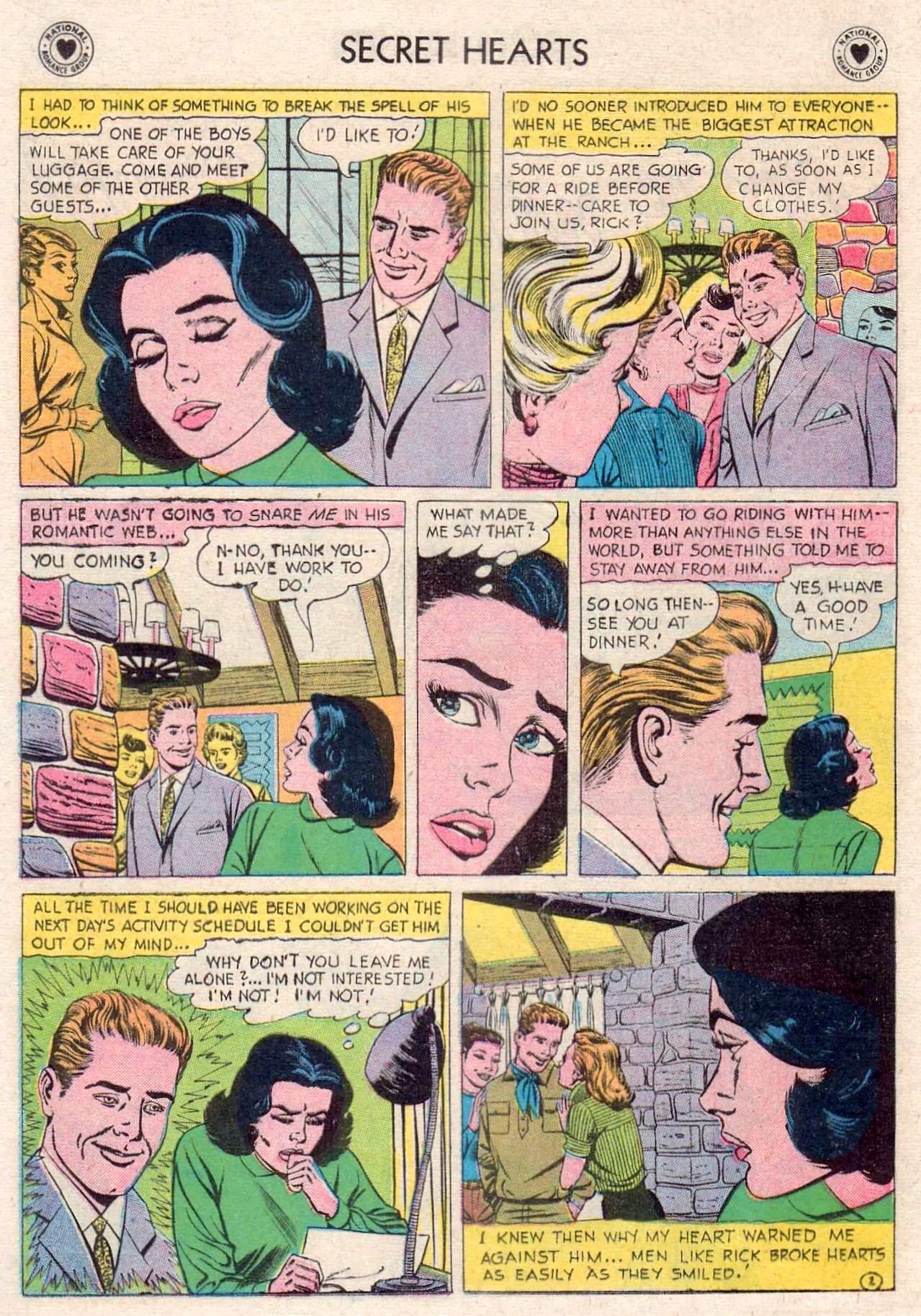 Read online Secret Hearts comic -  Issue #46 - 20