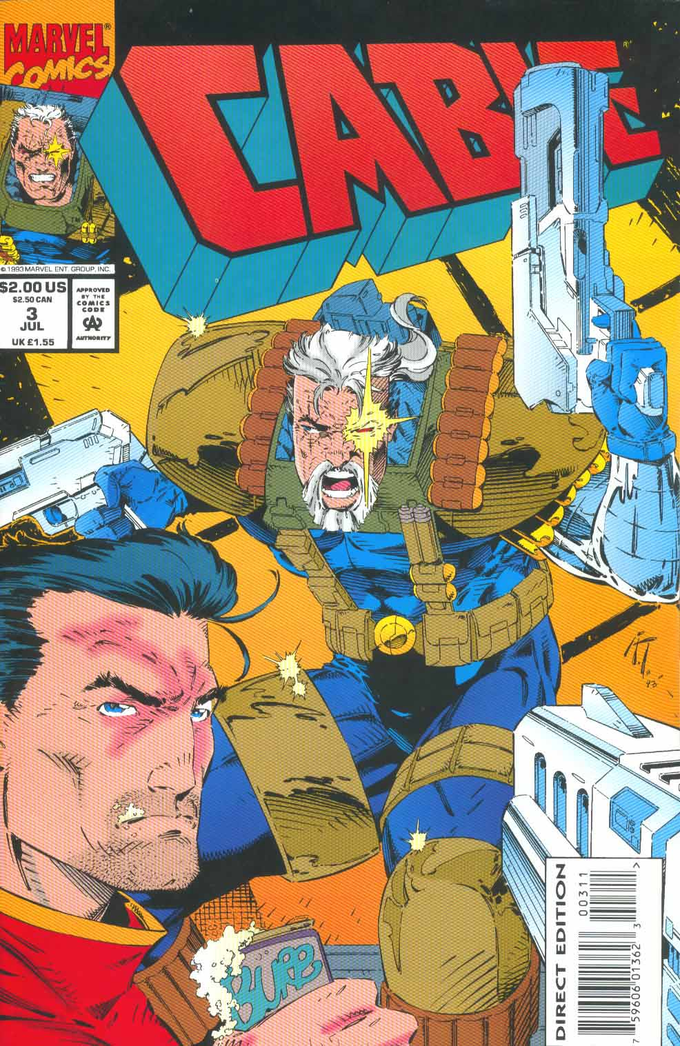 Cable (1993) 3 Page 1