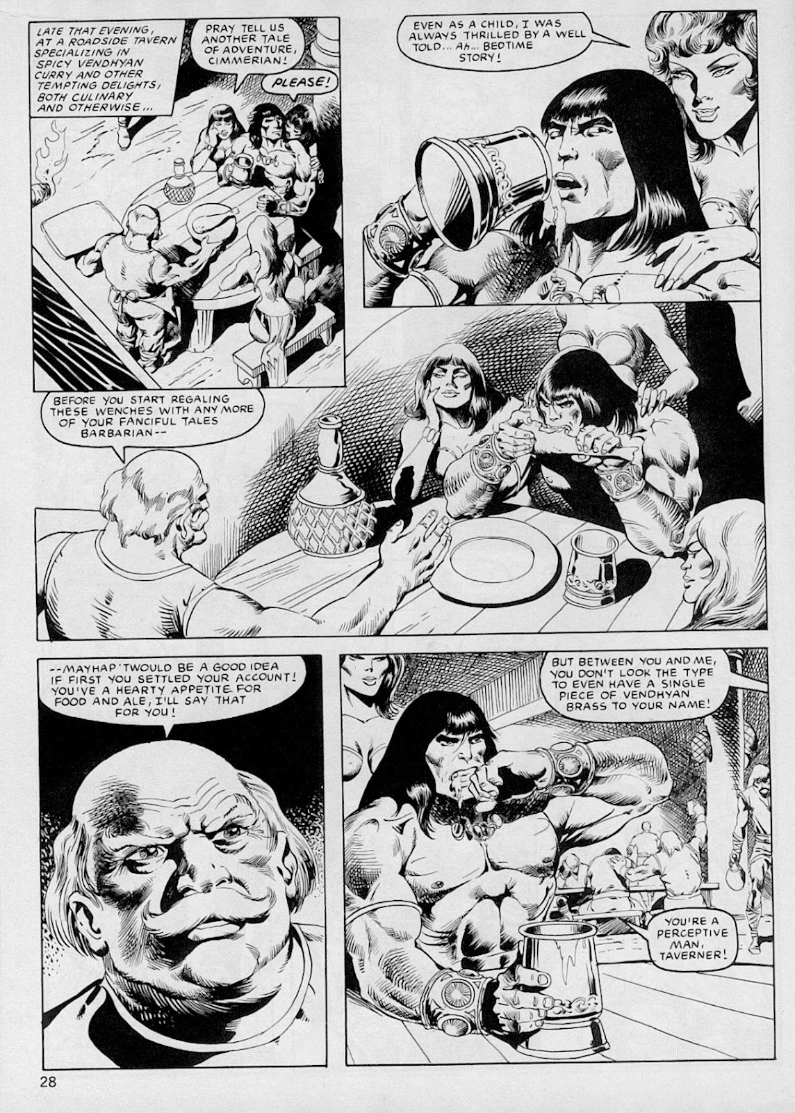The Savage Sword Of Conan Issue #103 #104 - English 27
