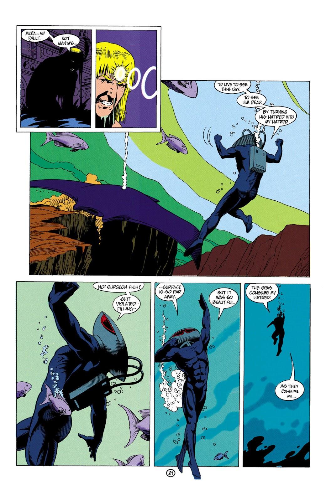 Aquaman (1991) Issue #6 #6 - English 22