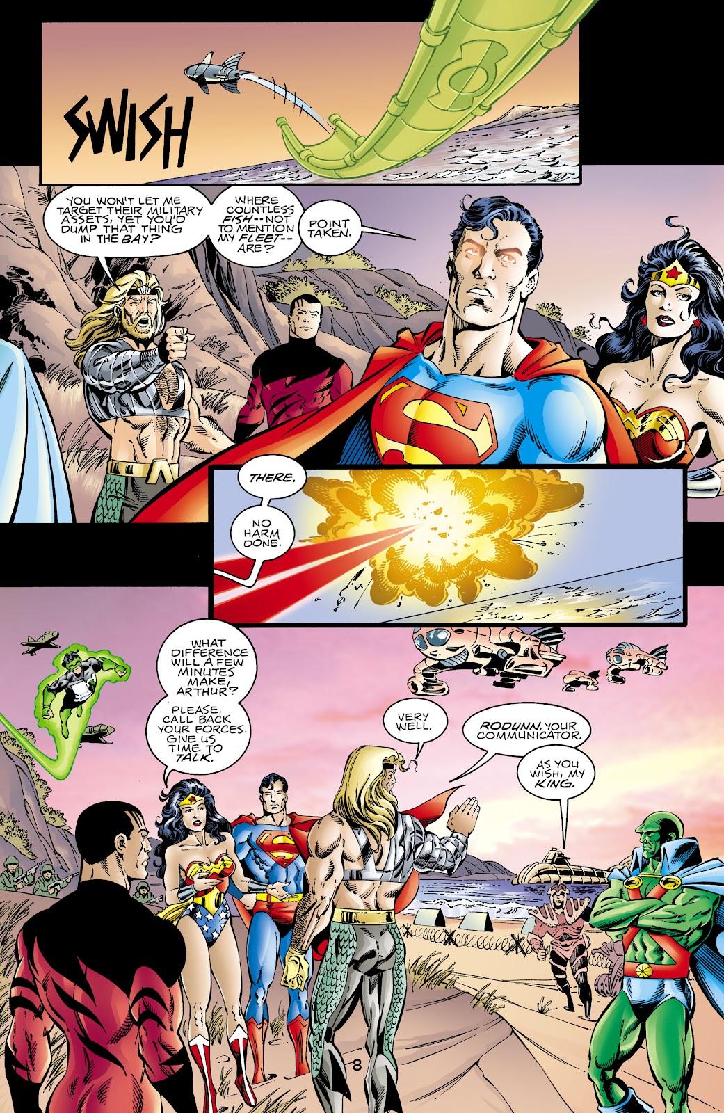 Aquaman (1994) Issue #66 #72 - English 8