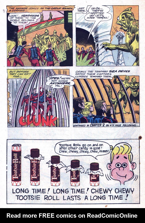 Read online Sea Devils comic -  Issue #20 - 10