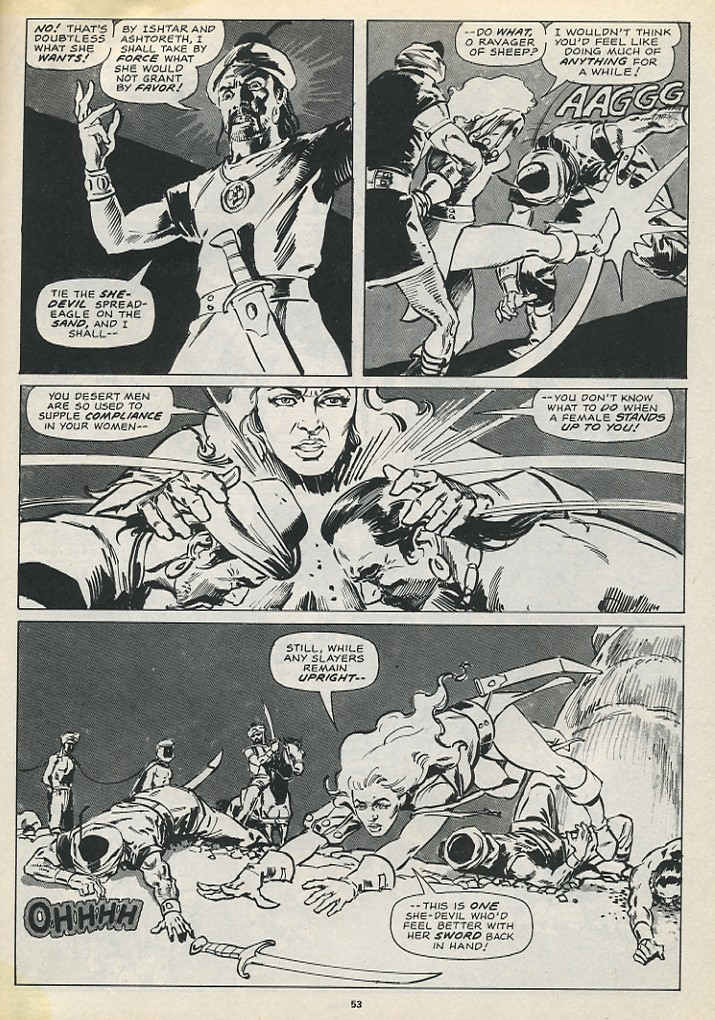 The Savage Sword Of Conan Issue #194 #195 - English 55