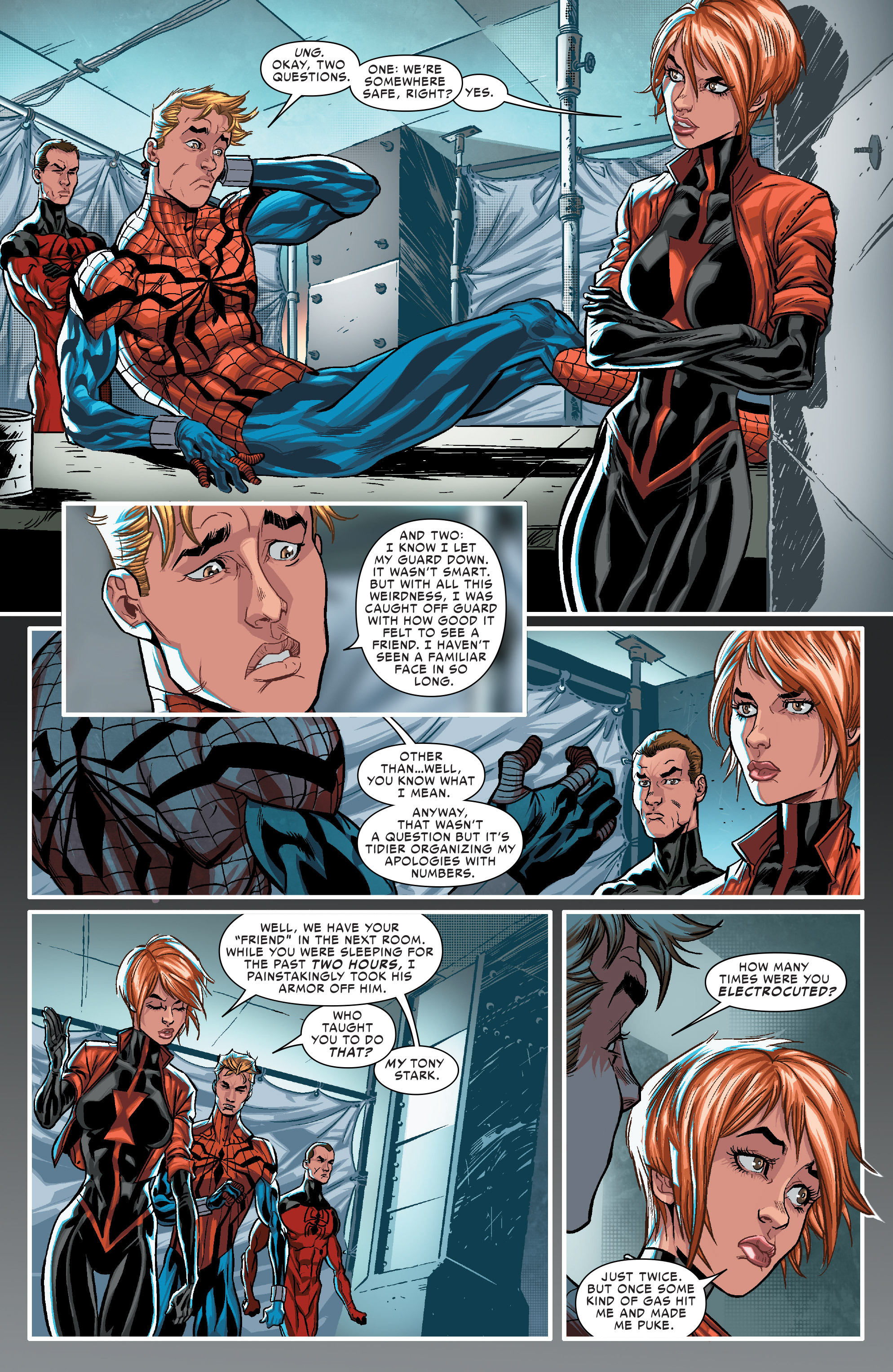 Read online Scarlet Spiders comic -  Issue #1 - 13