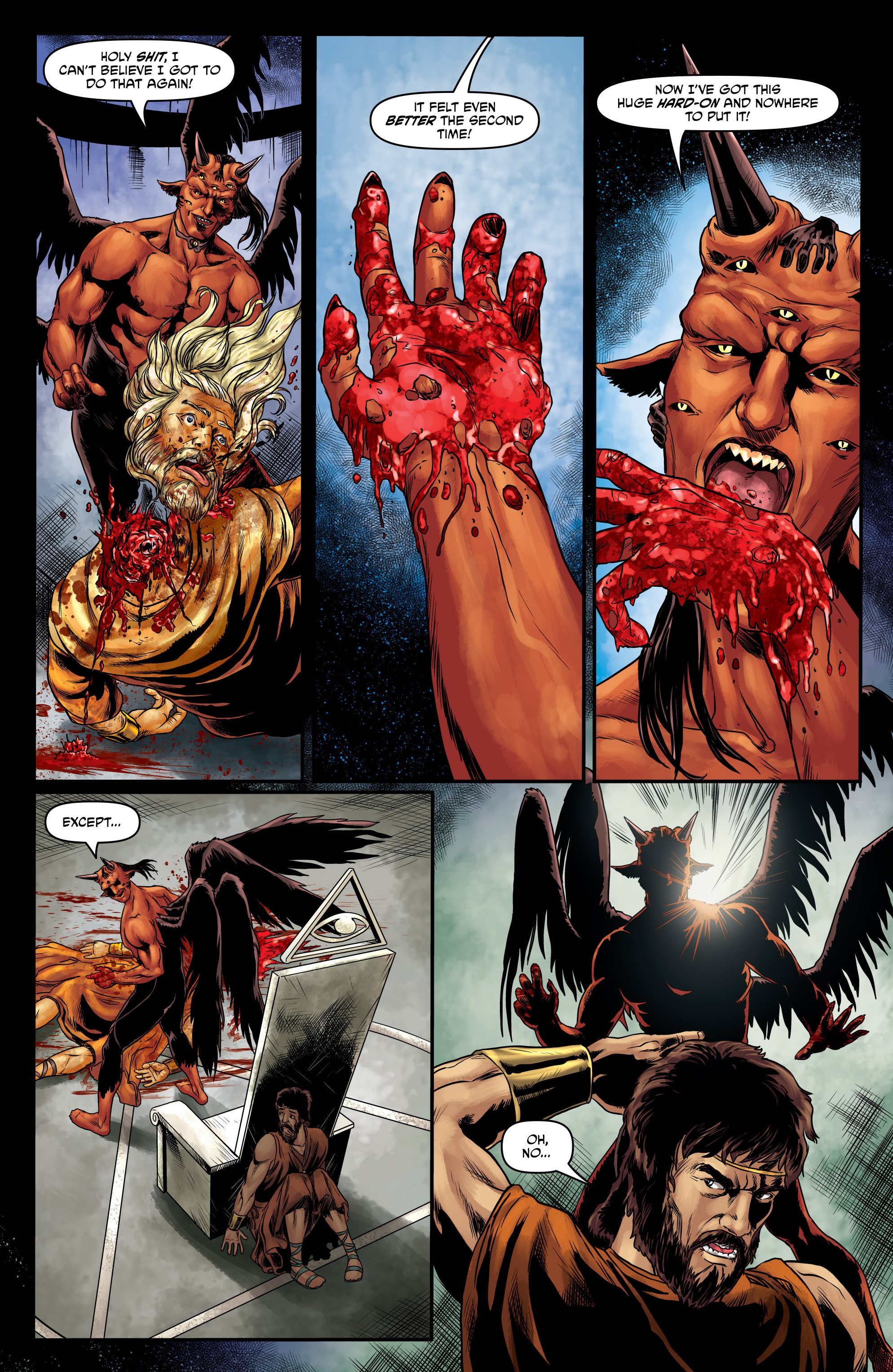 Read online God Is Dead comic -  Issue #47 - 9