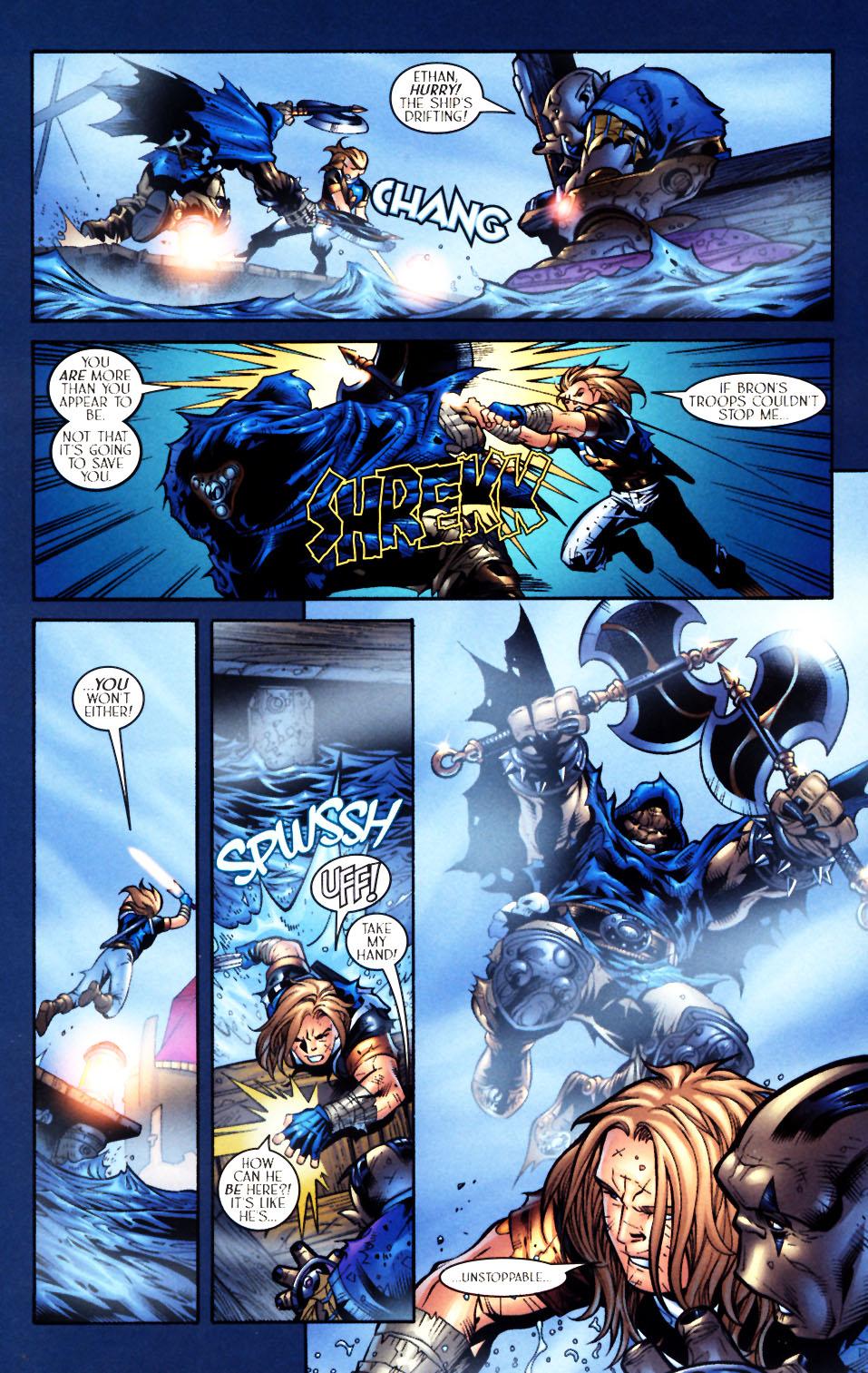 Read online Scion comic -  Issue #4 - 19