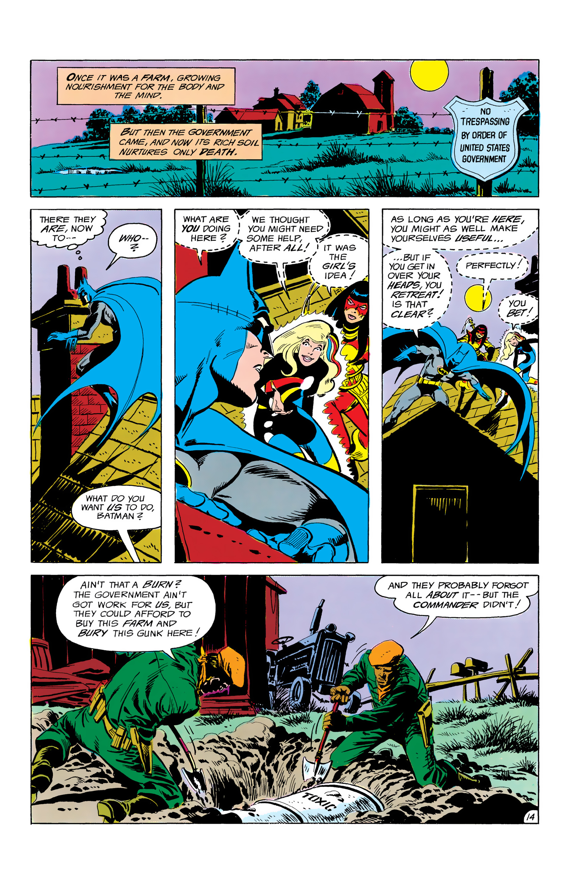 Batman and the Outsiders (1983) 3 Page 14