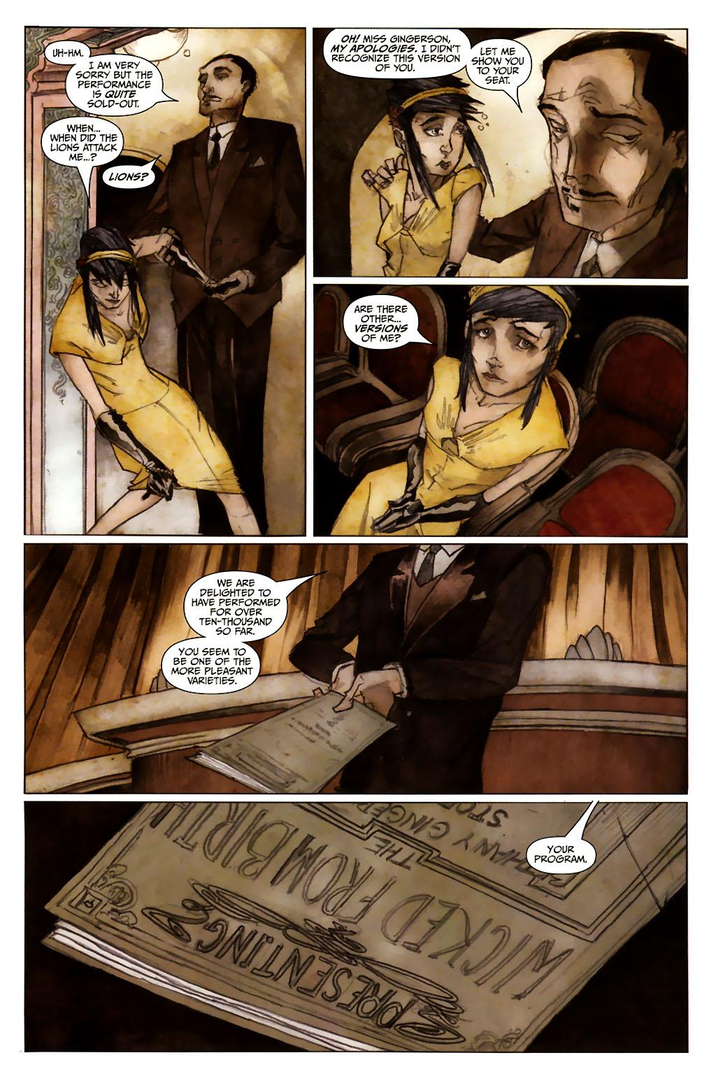 Girl 13 Page 6 #6 - English 13