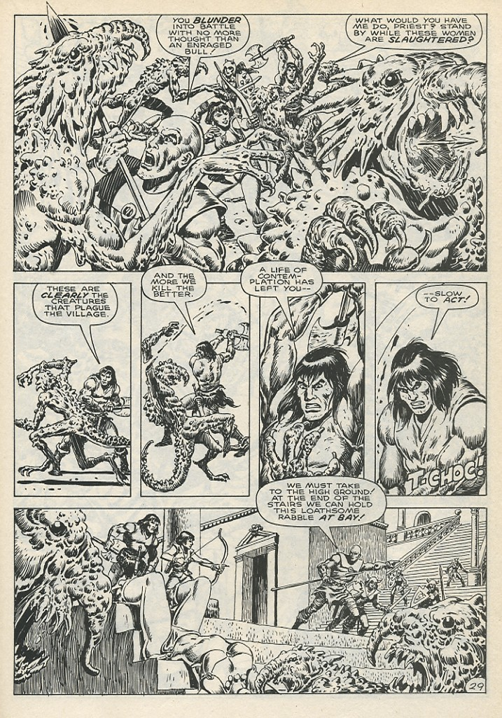 The Savage Sword Of Conan Issue #141 #142 - English 35