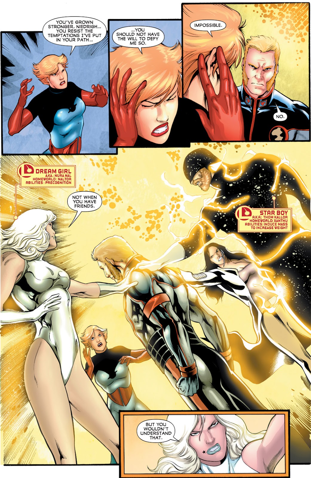 Legion of Super-Heroes (2010) Issue #16 #17 - English 9