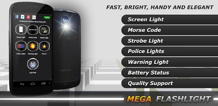 MEGA Flashlight