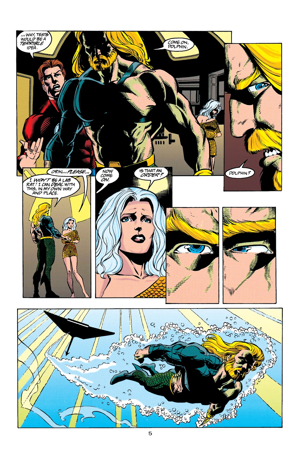 Aquaman (1994) Issue #31 #37 - English 6