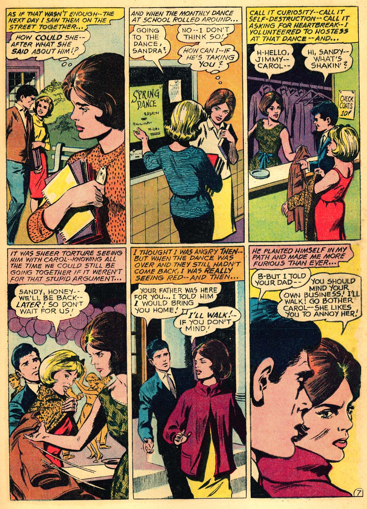 Read online Secret Hearts comic -  Issue #111 - 9