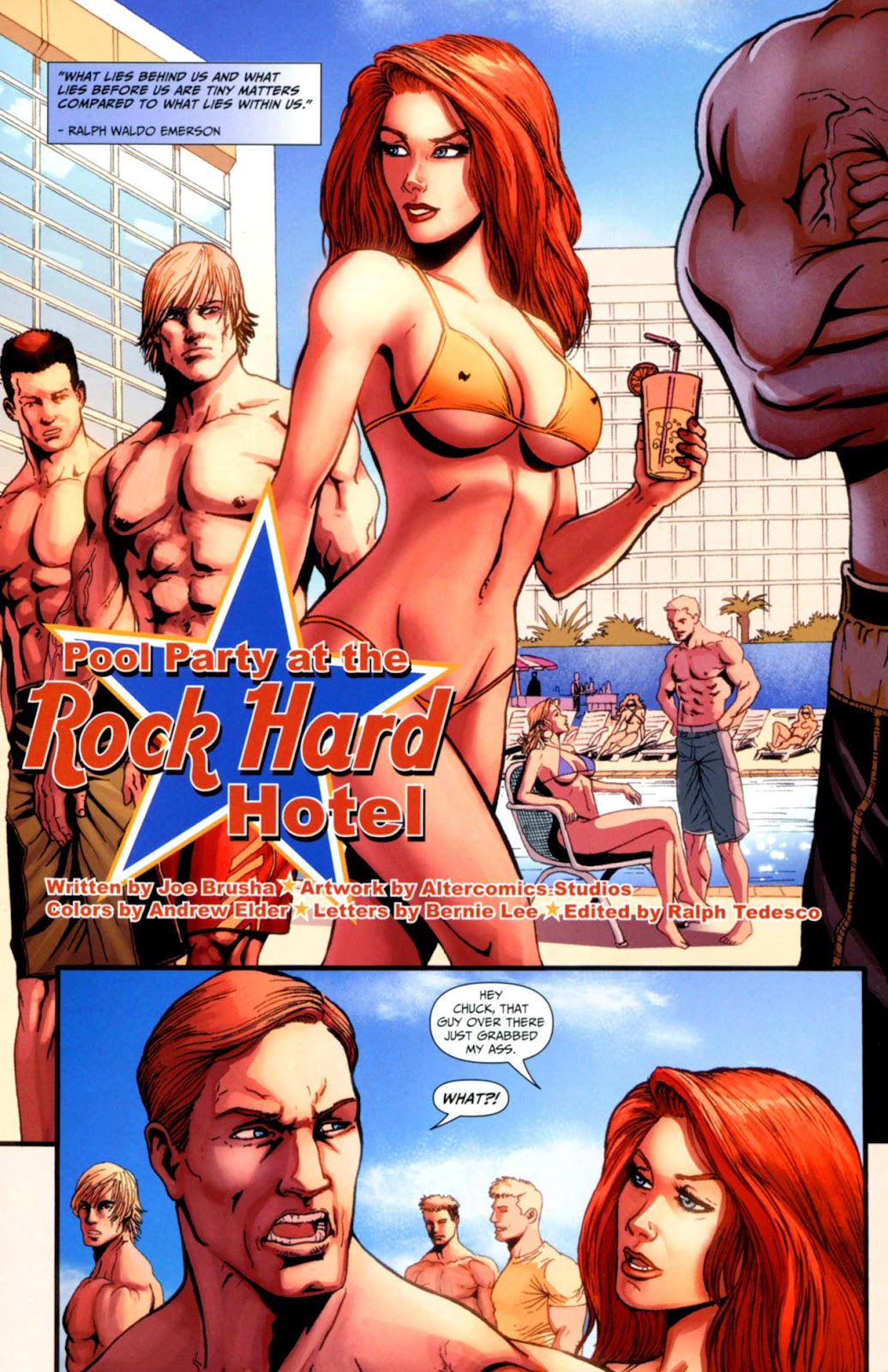 Grimm Fairy Tales: Swimsuit Edition Full #1 - English 28