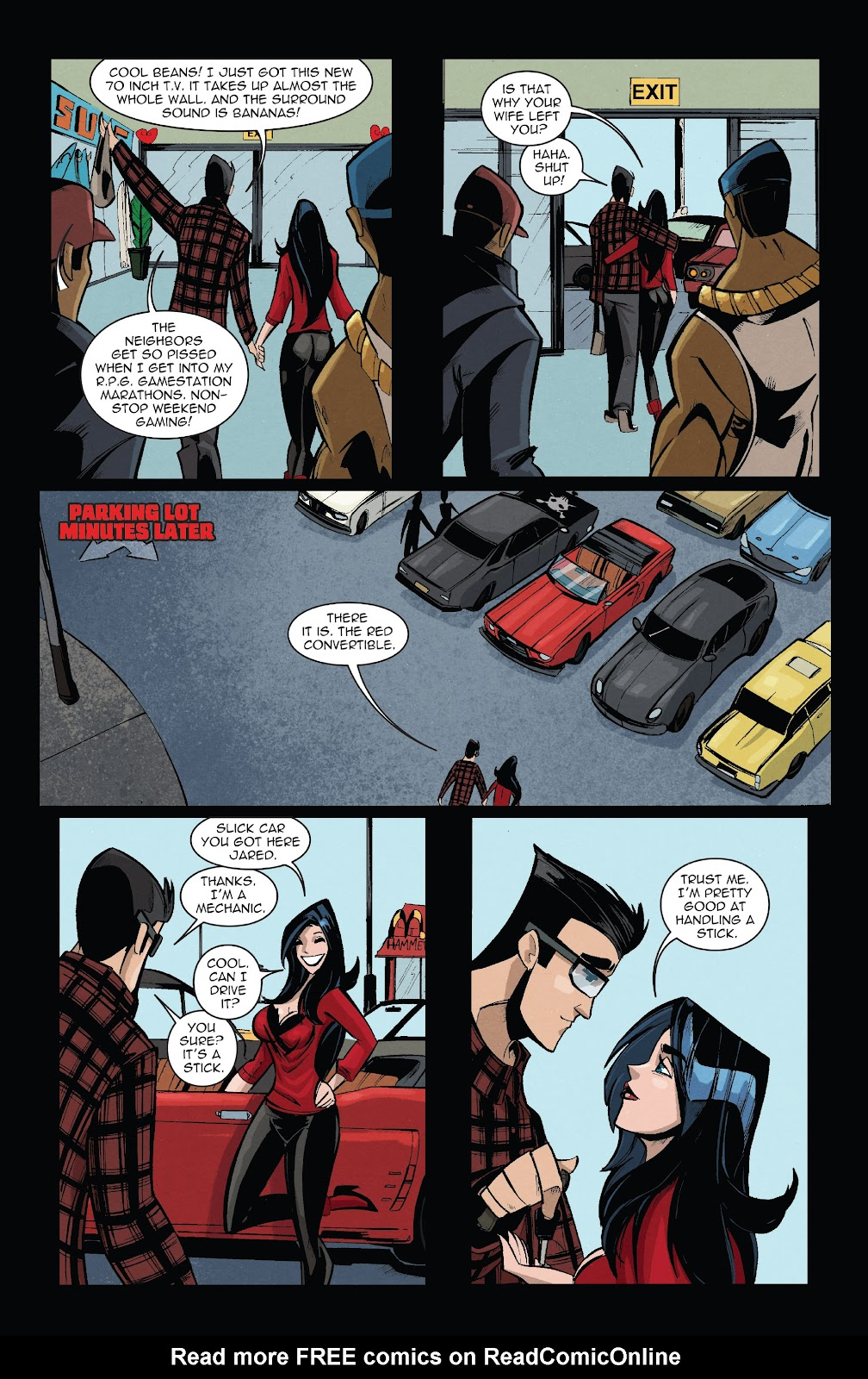 Zombie Tramp: VD Special Full Page 13