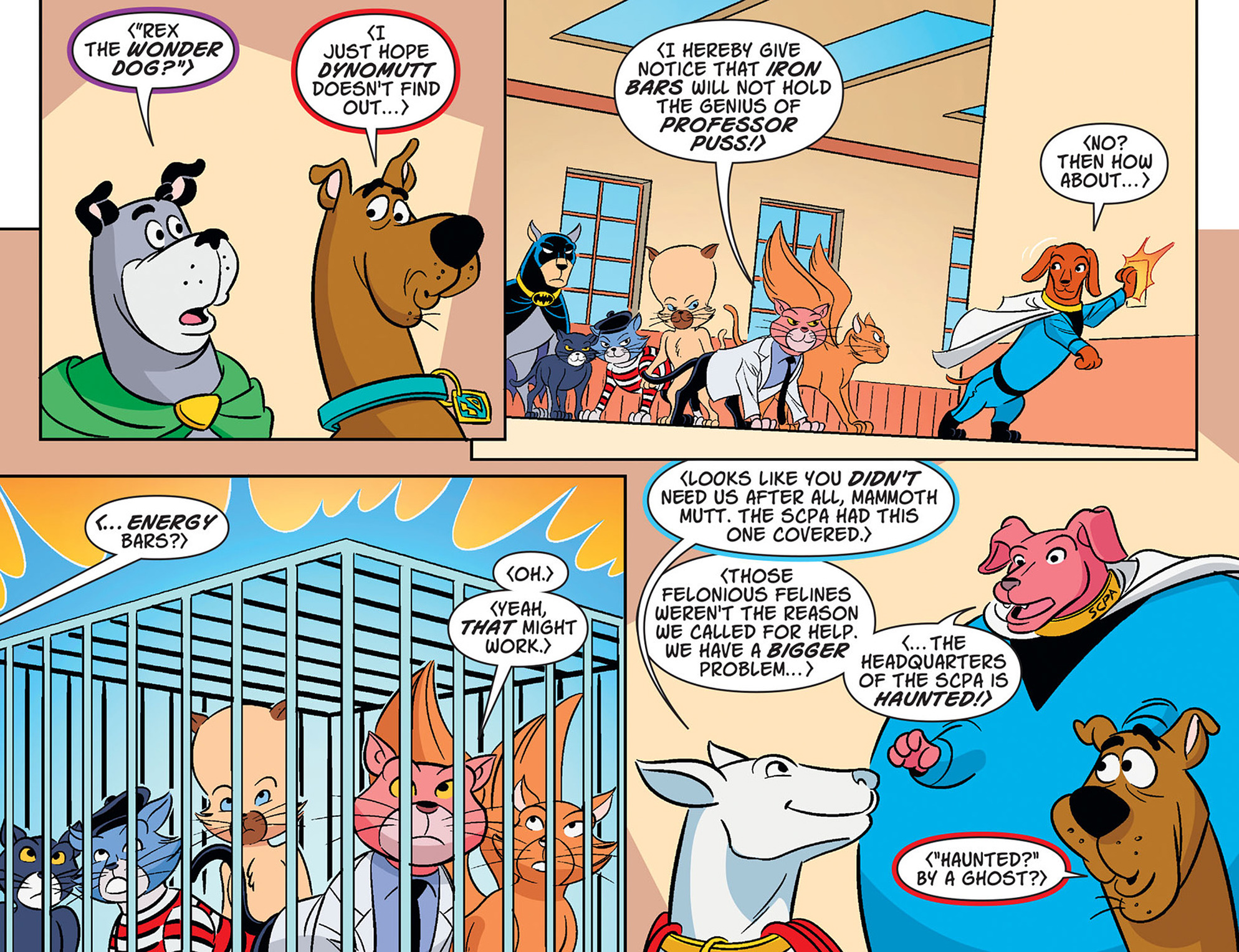 Read online Scooby-Doo! Team-Up comic -  Issue #35 - 21