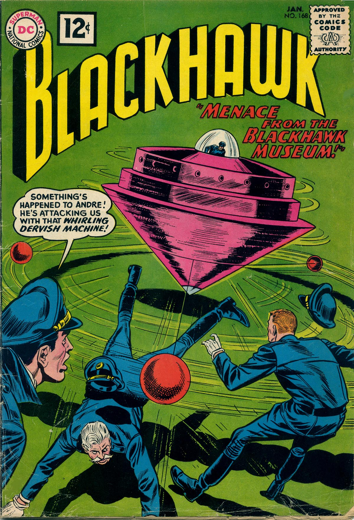 Blackhawk (1957) 168 Page 1